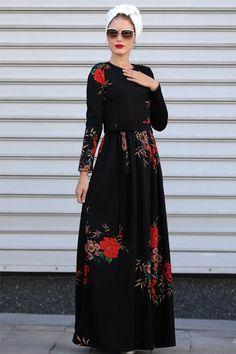 2d754d78d1c41 2018 için en iyi 43 tesettűr görüntüsü   Cute dresses, Elegant ...