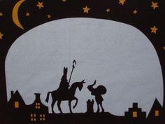 Sinterklaas transparant knutselpakket (10 stuks)