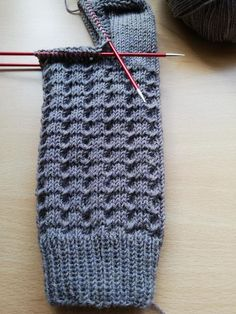 Easy Knitting, Knitting Socks, Knitting Needles, Knitting Patterns, Crochet Patterns, Tricot Simple, String Bag, Needlework, Free Pattern