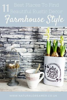 11 best places to find farmhouse decor, rustic deocr, home decor, decor, home interiors | Natural Dreamer