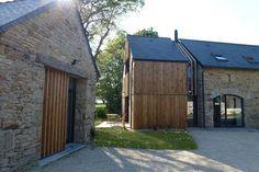 Réhabilitation maison pierres et bois. Prix national de la construction bois - PNCB 2012 - La Ferm'h