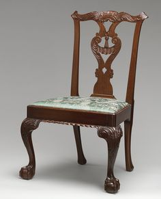 Side chair, 1765–75 New York