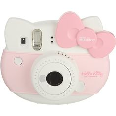 FUJIFILM Instax Mini Hello Kitty (£110) ❤ liked on Polyvore featuring accessories, fillers, camera, pink, tech and hello kitty
