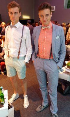 Boys at the Mercedes Benz Fashion Week - http://olschis-world.de/  #Streetstyle #Womenswear #Fashion