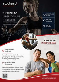 Fitness Gym Sport Free Flyer Template - http://freepsdflyer.com/fitness-gym-sport-free-flyer-template/ Enjoy downloading the Fitness Gym Sport Free Flyer Template created by Stockpsd!  #Business, #Corporate, #Event, #Fitness, #Gym, #Medical, #Party, #Show, #Sport