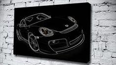 Black Porsche 911 cars canvas from only £14.99 at Canvas Art Print http://www.canvasartprint.co.uk/products/BLACK-PORSCHE-911-441314.aspx