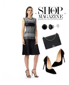 A fashion look from July 2017 featuring white dress, black pumps and chanel handbags. Browse and shop related looks. Date Dresses, Event Dresses, Chanel, New York, Shoe Bag, Polyvore, Stuff To Buy, Shopping, Collection