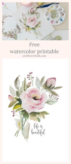 Free watercolor download