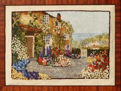 Lovely Traditional Rug Hooking by Angela Possak.