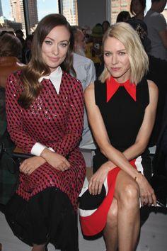 Celebrities Storm New York Fashion Week