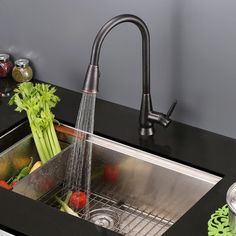 Found It At Wayfair   Single Handle Pull Out Kitchen Faucet With Dual Spray  | Home Ideas | Pinterest | Faucets, Handle And Kitchen Faucets