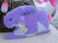 Vintage Chenille Vintage Quilt Bunny Rabbit by thepinkpalace, $35.00