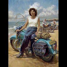 "David Uhl's ""Gloria""  - Love the old school bikes"