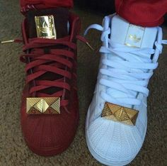 ecd68fb2bbc6 shoes shell toe adidas adidas shell toe burgundy white gold Black Adidas  Shoes