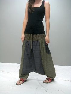 KUMO harem pant 238.1 by thaitee on Etsy, $41.00