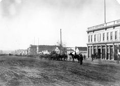 Zion's Cooperative Mercantile Institution (in which Brigham Young has an interest), Salt Lake City, Utah Territory. Circa A. Brigham Young, Salt Lake City Utah, Slc, Heaven On Earth, Historical Photos, Geology, Beautiful Places, United States, Street View