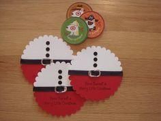 Cartão do presente de Santa titulares por PebbleKraft - Cartões de papel e artesanato em Splitcoaststampers