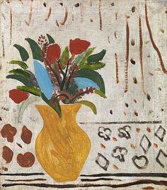Ben Nicholson Oil on canvas, in / cm Paintings I Love, Paintings For Sale, Original Paintings, Flower Paintings, Contemporary Artwork, Modern Art, Georges Braque, Renaissance Art, Flower Art