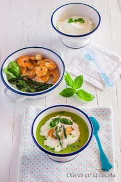 Olivas en la cocina Kitchenaid, Ramen, Cupcakes Fondant, Ethnic Recipes, Cook, Basil, One Pot Dinners, Stir Fry, Traditional Kitchen