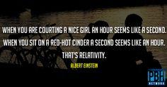 Albert Einstein Quote On Relativity