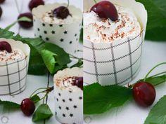 Kirsche küsst Nougat Cupcakes. Mehr dazu auf: http://blog1.grafinteriors.com/kirsche-kuesst-nougat-cupcake/