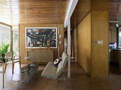 MCM interior of a Gene Leedy designed home.