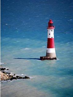 Beachy Head lighthouse East Sussex, England