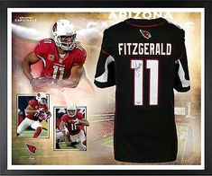 Sports Mem, Cards & Fan Shop Enthusiastic New Larry Fitzgerald Arizona Cardinals Glass And Mirror Football Display Case Uv New Varieties Are Introduced One After Another Autographs-original