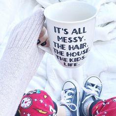 Mom life // coffee mug // Mom // Mom mug Some days!