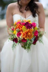 Image result for bright colorful bridal bouquets