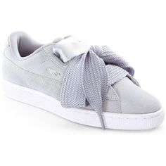 PUMA Suede Heart Sneakers (€76) ❤ liked on Polyvore featuring shoes 614b500ea