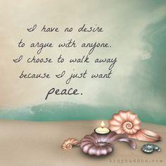 Choose Peace...
