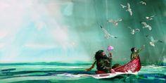 Hagrid e Harry - illustrazione di Jim Kay da Harry Potter and the Philosopher's Stone Ed. Harry Potter Art, Illustration, Drawings, Harry Potter Fan Art, Painting, Art, Pictures, Harry Potter Illustrations, Fan Art