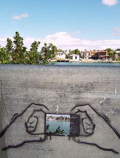 Street Art, Mc Arthur Causeway, Miami | Florida (by solana_hernandez)