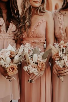 The new New Lovely Bridesmaid Dress Collection from Dessy. Modern boho bridesmaid dresses with a free-spirited trendy wedding style. Bhldn Bridesmaid Dresses, Affordable Bridesmaid Dresses, Bridesmaid Outfit, Bridesmaid Proposal, Wedding Ideas, Wedding Colors, Wedding Inspiration, Trendy Wedding, Wedding