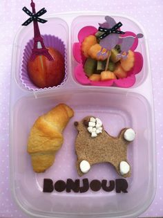 Oui oui!  Parisienne inspired kids lunch.