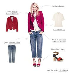 DENIM- how to wear Boyfriend jeans