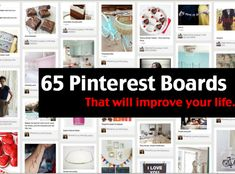 65 Innovative And Creative Pinterest Accounts That Will Improve Your Life