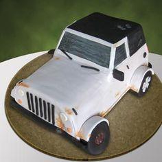 Junker Jeep Cake
