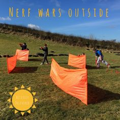 Nothing beats running around in the sunshine shooting your pals with nerf guns ☀️ Now that the weather is warming up bookings are flying in! Get in touch today to book the best party EVER! #nerfwars #outdoorsnerf #meganerf #nerfparty #nerfbirthday #birthdayparty #scotland