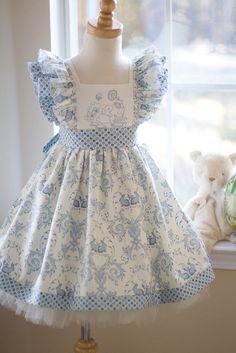 April Dress - Kinder Kouture   - Another pin closer to a million pins! Wrhel.com