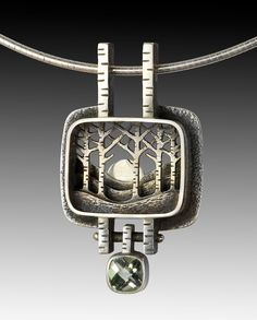 suzanne williams jewelry..this is fabulous! Gorgeous, unique! My only critique would be to leave the stone off of the bottom or replace with a metal stick or maple leaf.
