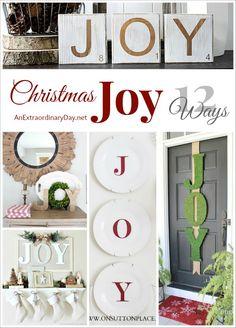 12 Ways to Spread Christmas Joy Around the House