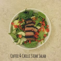 Simply Cooked: Coffee and Chilli Steak Salad