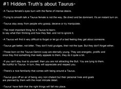 taurus, #1 hidden truths about taurus