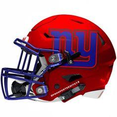 G-Men New York Giants Red Concept Design Football Helmet College Football Helmets, Nfl Football Teams, Football Stuff, Sports Uniforms, Football Uniforms, New York Giants Football, Sports Helmet, Nfl Logo, Football Pictures