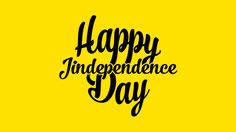 Happy Jindependence Day