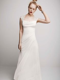 David's Bridal Wedding Dresses Photos on WeddingWire kinda like this dress