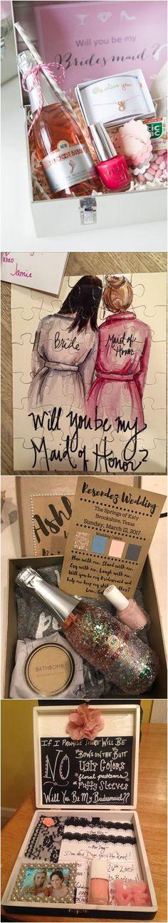 """Will You Be My Bridesmaid?"" 18 Creative Bridesmaid Proposal Ideas"