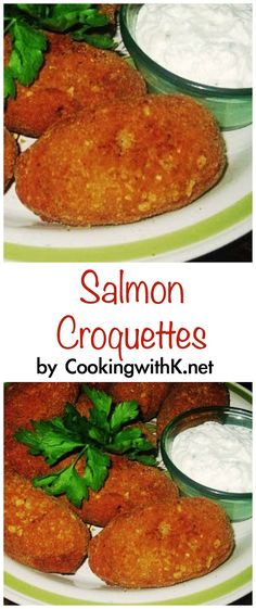 Cooking with K - Southern Kitchen Happenings: Salmon Croquettes {Granny's Recipe}